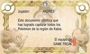 Certificado Pokédex Kalos Completa XY.png