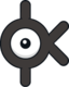 Unown K (dream world).png