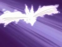 Skarmory usando ataque aereo.