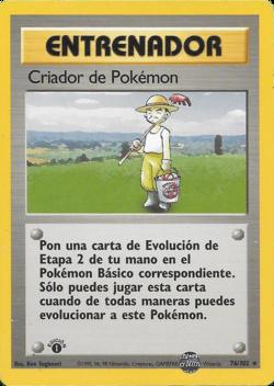 Carta Criador de Pokémon