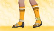 Calcetines de Deporte Naranja.png