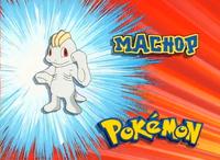 """Machop en el segmento """"¿Quien es ese Pokémon?"""""""