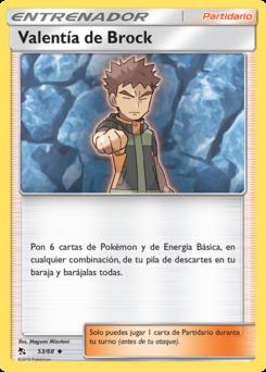 Carta Valentía de Brock