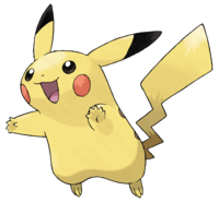 Ilustración de Pikachu