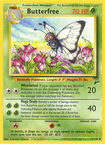 Butterfree (Base Set 2 TCG)