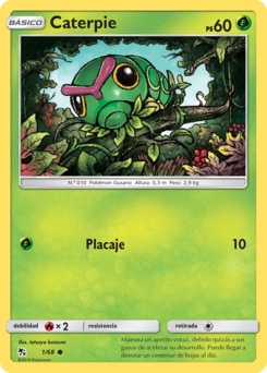 Carta de Caterpie