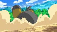 Hippowdon usando excavar.