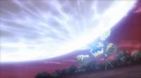 Mega-Metagross de Steven/Máximo usando foco resplandor.