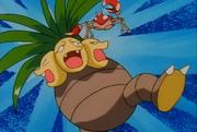 EP077 Krabby de Ash utilizando agarre contra Exeggutor de Mandi.png
