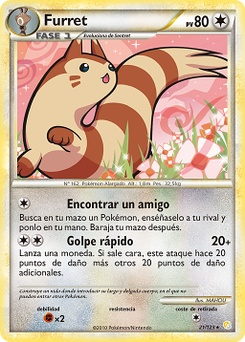 Carta de Furret
