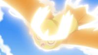 Noctowl usando ataque aéreo.
