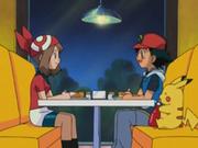 EP278 Ash y Aura cenando.png