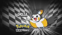 """Emolga en el segmento """"¿Quién es ese Pokémon?/¿Cuál es este Pokémon?"""""""