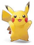 Artwork Pikachu LGPE.png