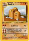 Dugtrio (Base Set TCG)