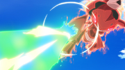 P16 Líder Genesect usando doble rayo.png