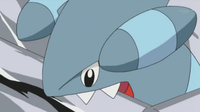 Gible usando mordisco.