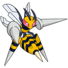 Mega-Beedrill (dream world).png