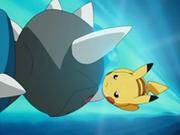 EP487 Pikachu esquivando cabezazo zen.png