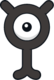 Unown Y (dream world).png