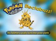 Este Pokémon vive cerca de las plantas de energía.