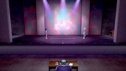 Interior del Estadio de Plié en los videojuegos