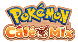Logotipo de Pokémon Café Mix.