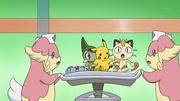 EP709 Audino con los Pokémon de los protaonistas.jpg