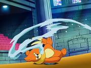 EP571 Buizel usando pistola agua en el suelo.png