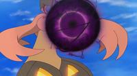 Gourgeist de Jessie usando bola sombra.