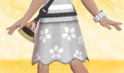 Falda de Flores Gris.png