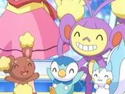 EP548 Pokémon de Maya felices.png