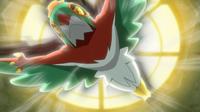 Hawlucha usando plancha voladora.