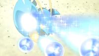 Clauncher usando rayo burbuja.