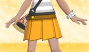Minifalda Plisada Naranja.png