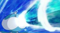 Jellicent usando hidrobomba.