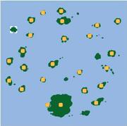Localización de la isla sin nombre 4.
