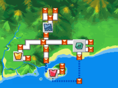 Floresta en Pokémon Ranger