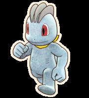 Machop Pokémon Mundo misterioso equipo de rescate DX.png
