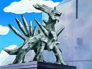 Estatua de Dialga.
