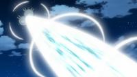 Magneton usando foco resplandor.