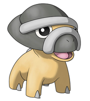 Shieldon en Pokémon Ranger 2.png