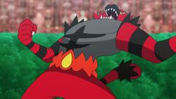 Incineroar de Ash