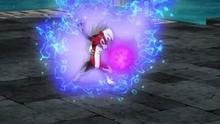 Lycanroc usando dracoaliento devastador