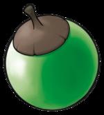 Ilustración de Bonguri verde