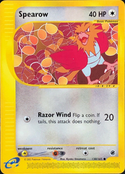 Spearow (Expedition Base Set TCG).png