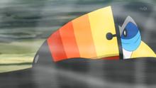 Toucannon usando viento afín