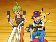 EP568 Alecrán y Ash haciendo ejercicio.png