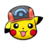 Pikachu gorra Sinnoh