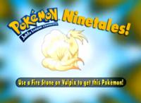 """""""Con una Piedra fuego, Vulpix evoluciona en este Pokémon""""."""